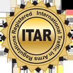 ITAR - International Traffic in Arms Regulations Seal
