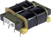 Photo of Low-Profile, PC-Mount LPC Transformer