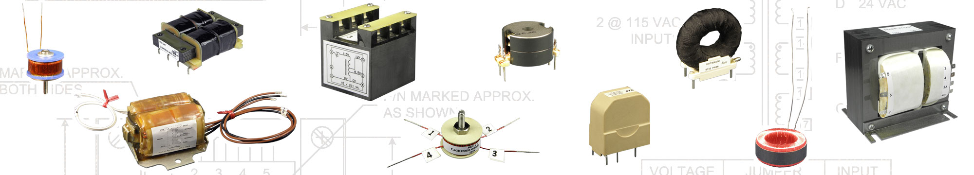 Examples of Custom Electronic Transformers