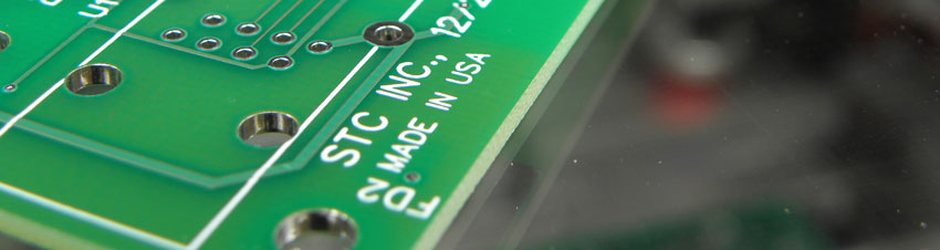 STC Electronics Circuit Board Manufactured in the USA