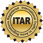 ITAR - International Traffic in Arms Regulations Seal