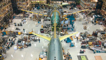 Boeing KC-46A in Production