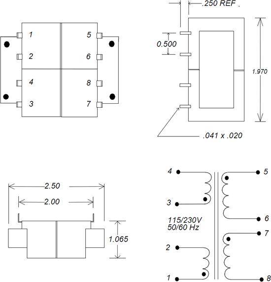 LPC 12VA Transformer Schematic