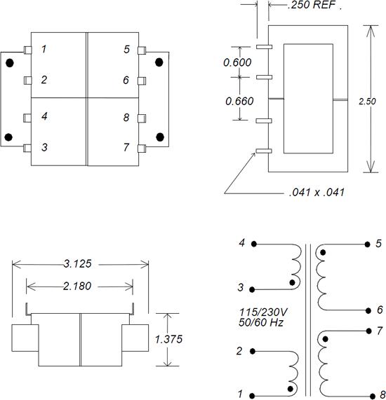 LPC 48VA Transformer Schematic