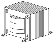 Magnetics Terms - Transformer with Chassis-Mount Brackets