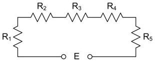 Magnetics Terms - Series Circuit Diagram