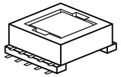 Magnetics Terms - Surface-Mount Transformer