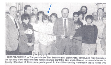 STC Ribbon Cutting - 1989