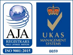 ISO 9001:2015 Registration Mark