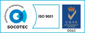 ISO 9001 UKAS Mark